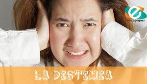 La distimia o trastorno distímico