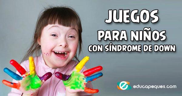 juegos para niños con síndrome de down