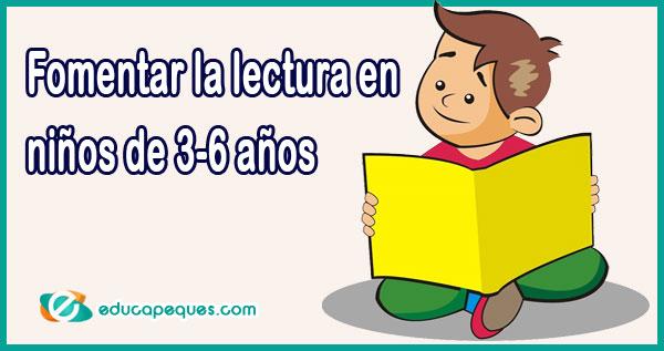 hábitos lectores en niños de 3-6 años