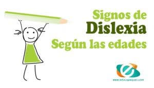 síntomas de dislexia