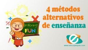 Métodos de enseñanza alternativos
