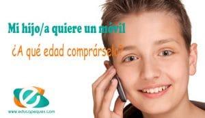 comprar móvil niño