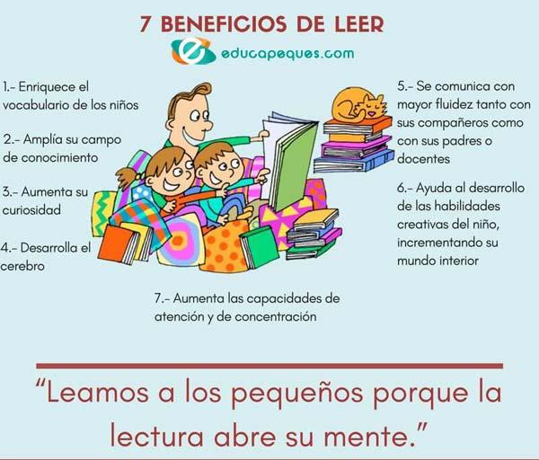 beneficios lectura infantil
