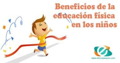 Beneficios de la educación física en los niños