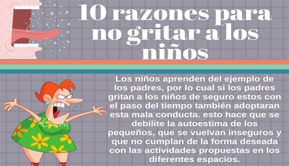 Educar Sin Gritar 10 Razones Para Dejar De Gritar A Los Niños
