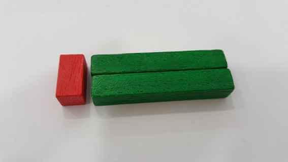 Comprender las multiplicaciones: regletas 2x6