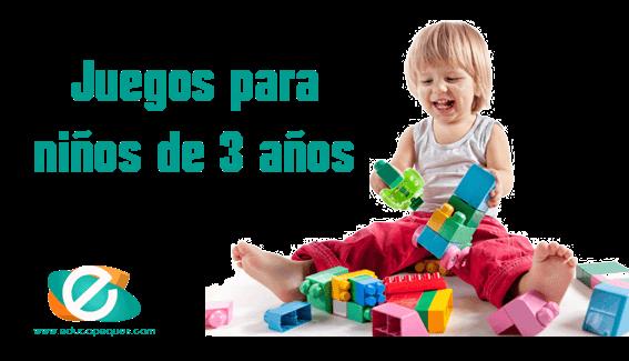 juego para niños de 3 años