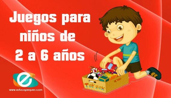 Juegos para ni os desde los 2 a los 6 a os educapeques for Sillas para ninos de 3 a 6 anos