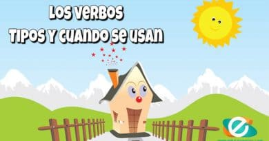 Tipos de verbos y cuando se usan