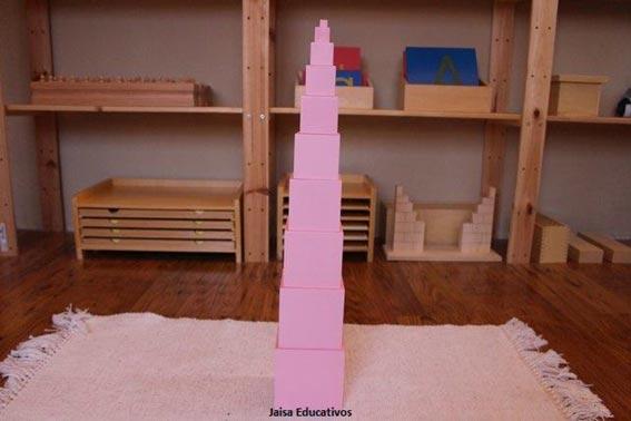 area sensorial montessori