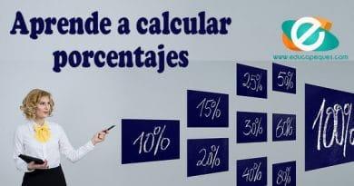 Cómo aprender a calcular porcentajes
