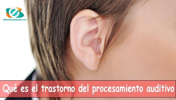 trastorno del procesamiento auditivo