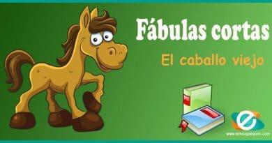 La fábula del caballo viejo – Una fabula corta para niños