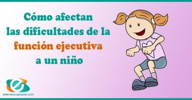 Cómo afectan las dificultades de la función ejecutiva a un niño