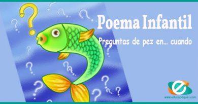 Poemas cortos para niños: Preguntas de pez en… cuando
