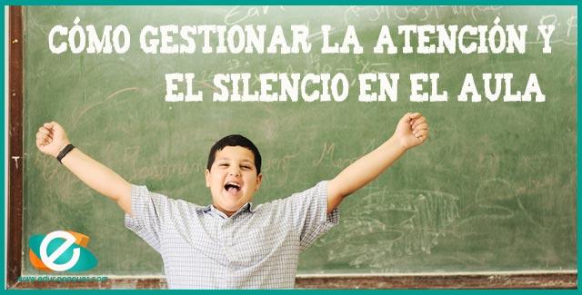 silencio en el aula