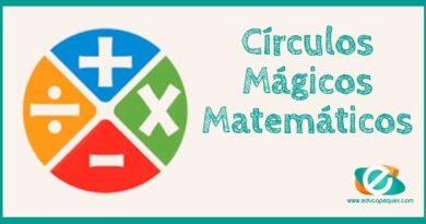 Círculos Mágicos Matemáticos para primaria