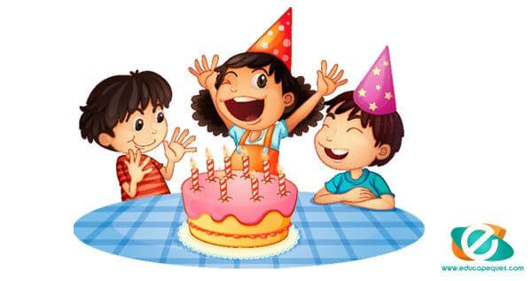 cumpleaños de los niños