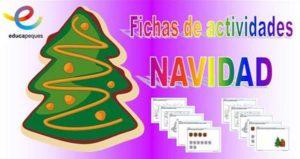 Fichas de actividades para conocer la navidad