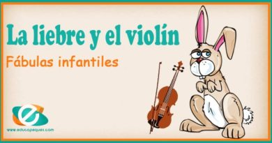 La liebre y el violín. Cuentos o fábulas para niños