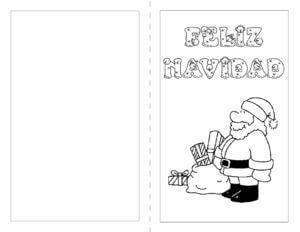 Postales De Navidad Para Colorear Christmas De Navidad