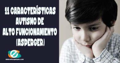 Autismo de alto funcionamiento. Niños con Asperger