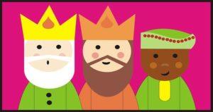 cuentos de adviento, los reyes magos