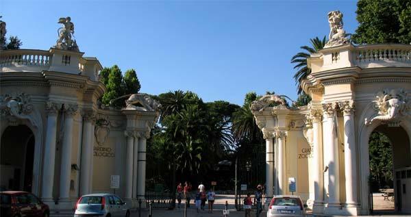 Jardín zoológico Bioparco y Villa Borghese