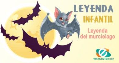 Leyendas para niños de primaria: La leyenda del murciélago