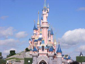castillo de la Bella Durmiente en Disneyland Paris