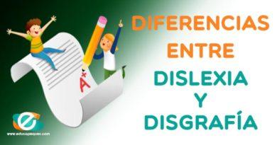 Diferencias entre dislexia y disgrafía infantil