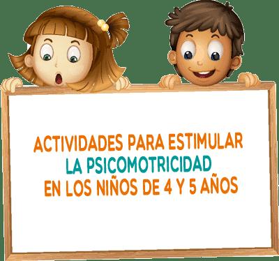 Actividades para estimular la psicomotricidad en los niños