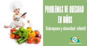 Problemas de obesidad en niños