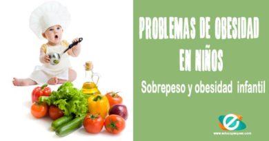 Problemas de obesidad en niños. Sobrepeso y obesidad infantil