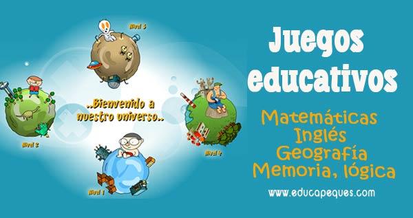 Juegos Educativos Y Juegos Didacticos De Educapeques