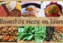Alimentos ricos en hierro para la dieta de los niños