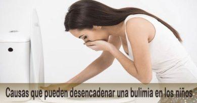 Bulimia. Causas que pueden desencadenar una bulimia en los niños