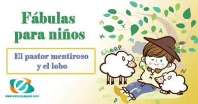 Fábulas con moraleja para niños: El pastor mentiroso y el lobo