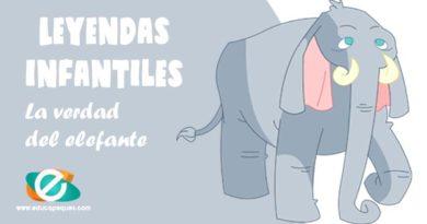 Leyendas conocidas para niños: La verdad del elefante