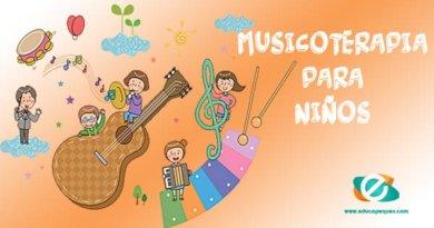 Musicoterapia para niños. Terapia musical