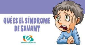 síndrome de Savant