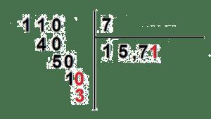 como hacer divisiones con decimales