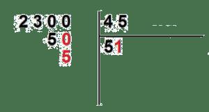 como se dividen los numeros decimales
