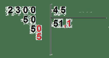 divisiones con decimales para imprimir