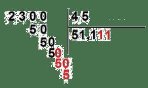 divisiones con decimales resueltas