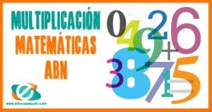 multiplicación abn