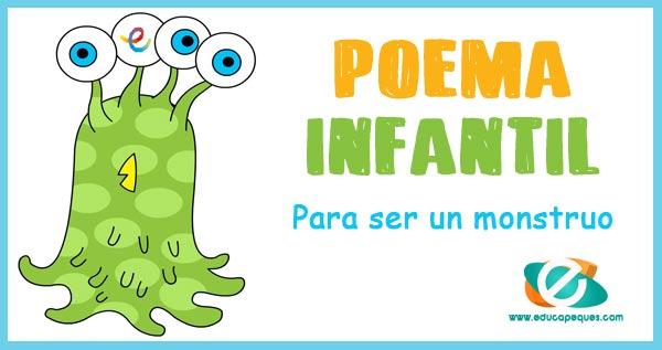 poemas cortos para niños