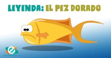 El pez de oro. Leyendas cortas para niños