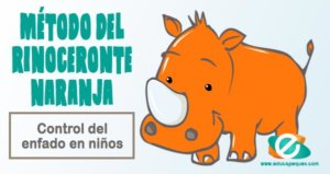 técnica del rinoceronte naranja
