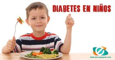 Diabetes en niños. Menú para diabéticos